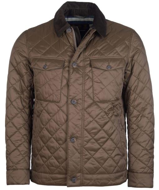 Men's Barbour Maesbury Quilted Jacket - Darkest Olive