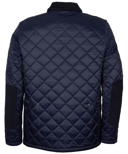 Men's Barbour Diggle Quilted Jacket - Navy / Classic