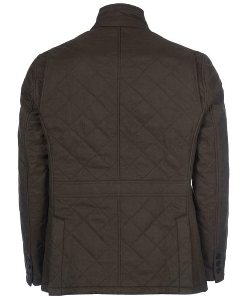 Men's Barbour Rellond Polar Fleece Quilted Jacket - Olive