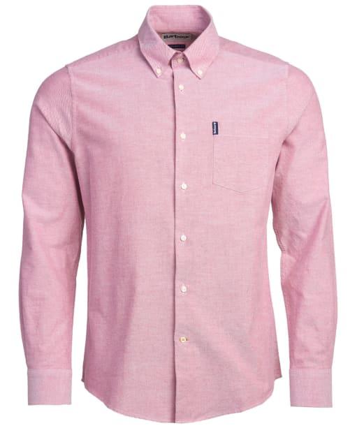 Men's Barbour Oxford 1 Tailored Shirt - Merlot
