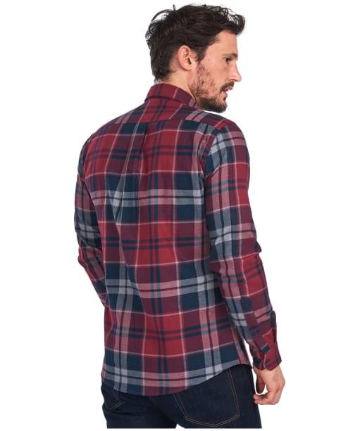 Men's Barbour Bidston Shirt - Ruby Check