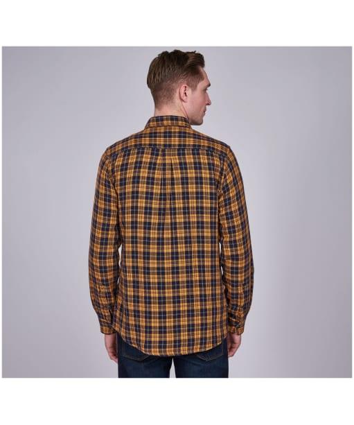 Men's Barbour International Steve McQueen Thomas Check Shirt - Navy Check