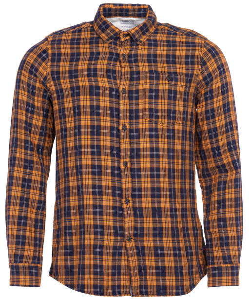 Men's Barbour International Steve McQueen Thomas Check Shirt - Navy Check