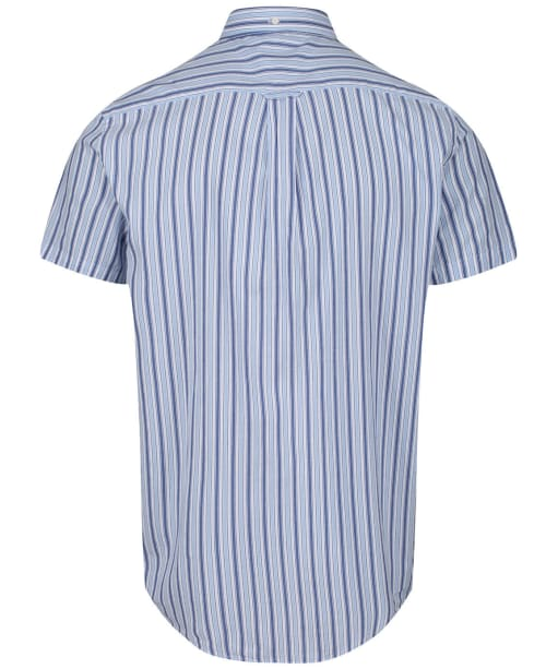 Men's GANT Windblown Oxford Stripe Shirt - Crisp Blue