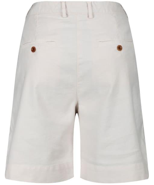 Women's GANT Pleated City Shorts - Putty