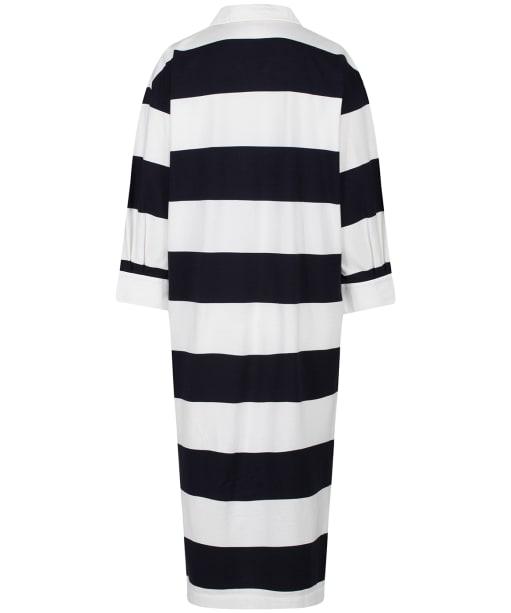 Women's GANT Feminine Striped Rugger Dress - Evening Blue