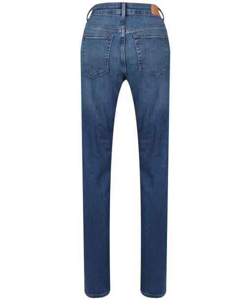 Women's GANT Slim Super Stretch Jeans - MID BLU BRKN IN