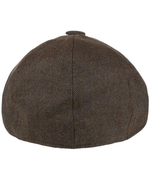 Men's Schöffel Newsboy Cap - Loden Green Herringbone Tweed