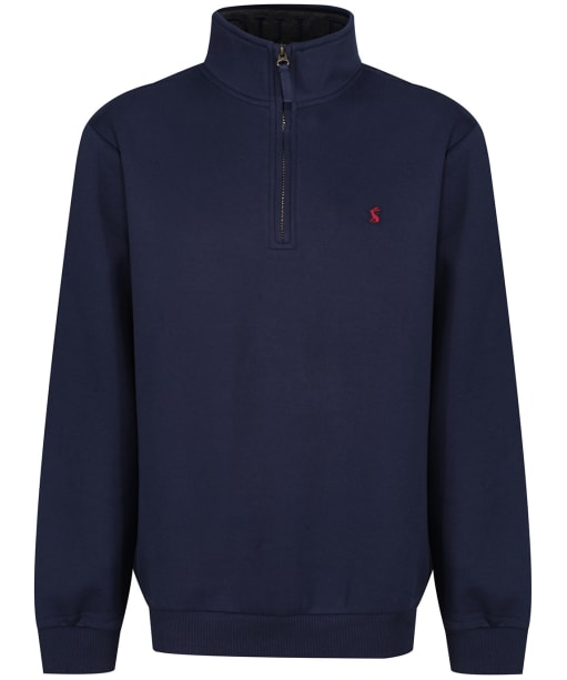 Men's Joules Drayton Quarter Zip Sweater - French Navy