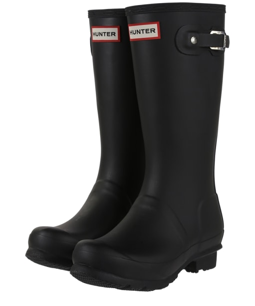 Hunter Original Kids Wellington Boots, 12-5 - Black