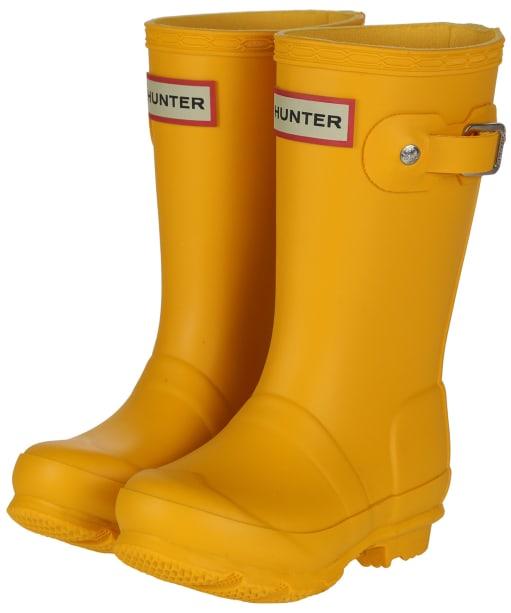 Hunter Original Kids Wellington Boots, 12-5 - New Yellow