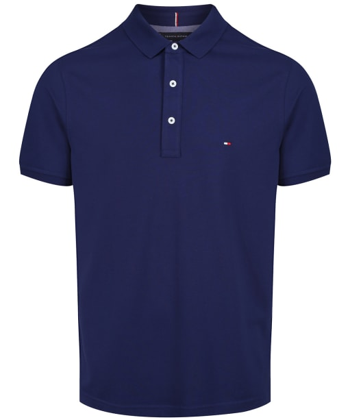 Men's Tommy Hilfiger Slim Fit Polo Shirt - Blue Ink