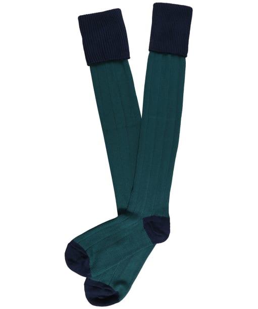 Men's Pennine Pembroke Shooting Socks - Admiral