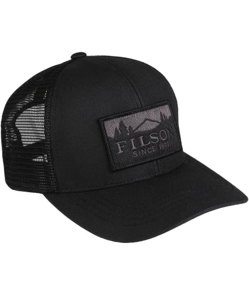 Men's Filson Logger Mesh Cap - Black