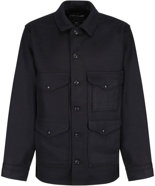 Men's Filson Mackinaw Wool Cruiser Jacket - Dark Navy