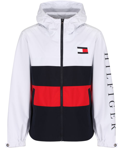 Men's Tommy Hilfiger Colourblock Hooded Jacket - White