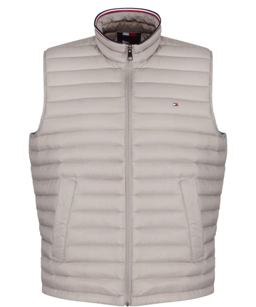 Men's Tommy Hilfiger Packable Down Vest - City Grey