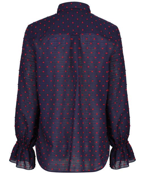 Gant Smock Dot Shirt                          - Classic Blue