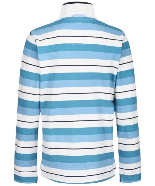 Women's Crew Clothing Padstow Sweater - Blue Stripe