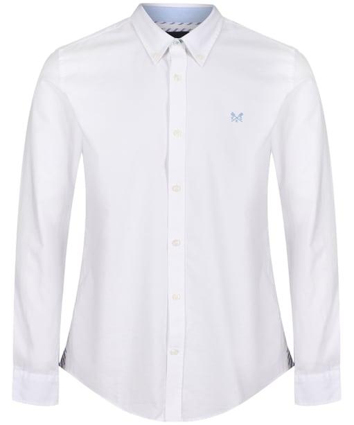 Men's Crew Clothing Slim Oxford Shirt - White
