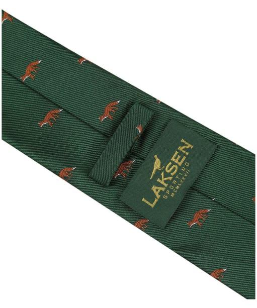 Men's Laksen Fox Tie - British Racing Green