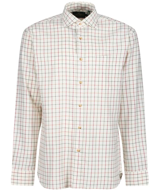 Men's Laksen Abraham Shirt - Green / Red / Spicy