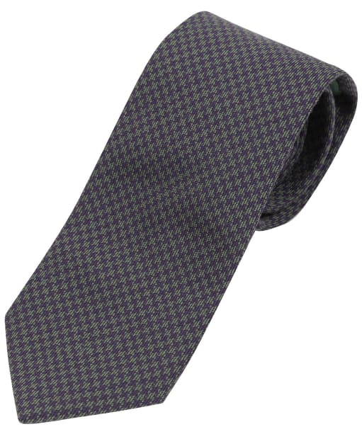Men's Laksen Puppytooth Tie - Heather / Seagrass