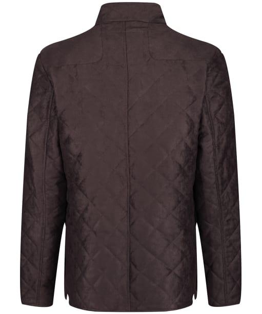 Men's Laksen Hampton Quilted Jacket - Brown