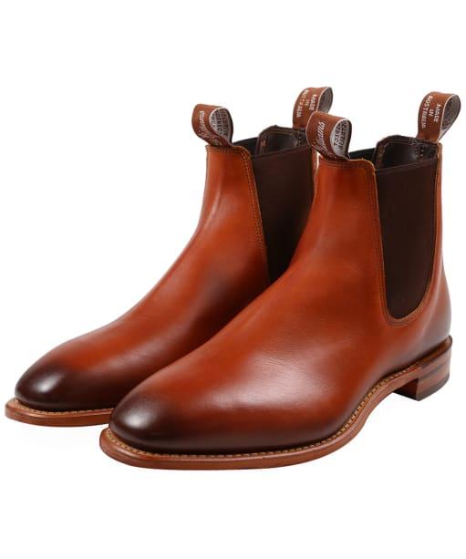 Men's R.M. Williams Chinchilla Boots - G Fit - Cognac