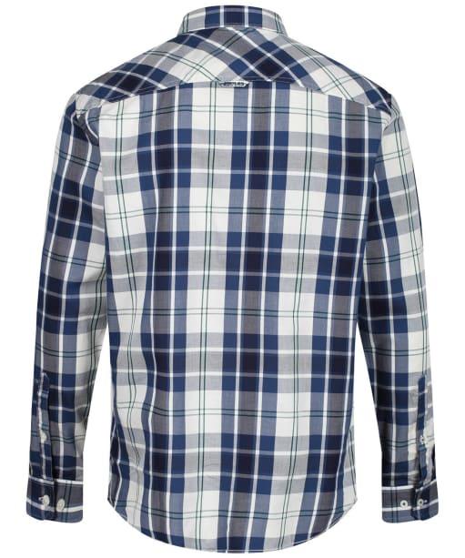 Men's Joules Hewitt Shirt - Cream / Blue Check