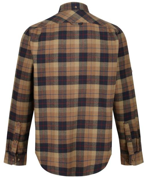 Men's Fjallraven Singi Heavy Flannel Long Sleeve Shirt - Dark Sand