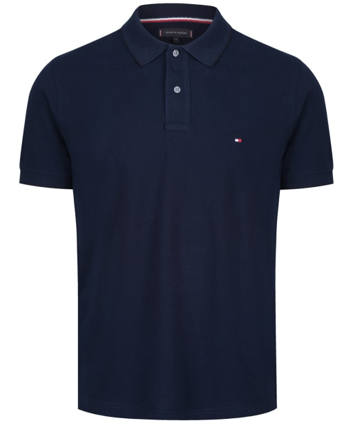 Men's Tommy Hilfiger Oxford Polo Shirt - Desert Sky