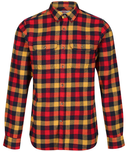Men's Fjallraven Skog Shirt - True Red
