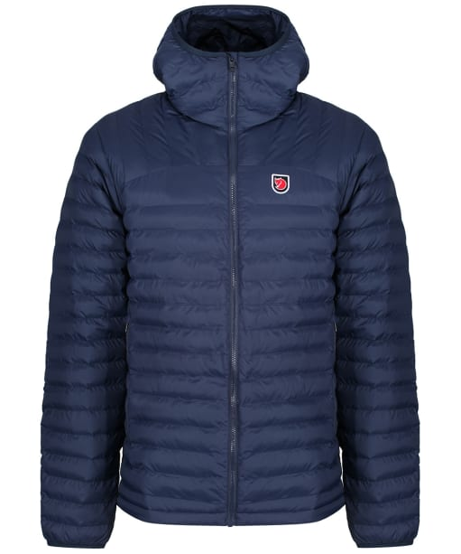 Men's Fjallraven Packable Expedition Latt Hoodie - Navy