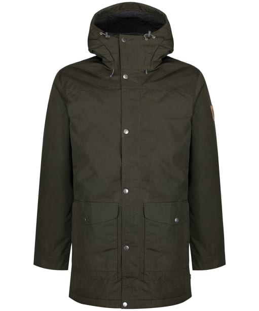 Men's Fjallraven Greenland Winter Parka - Deep Forest