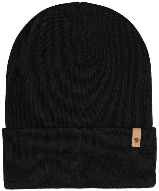 Fjallraven Classic Knit Hat - Black