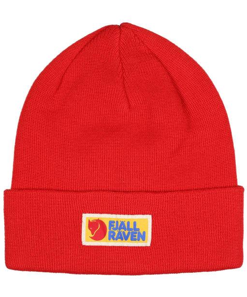 Men's Fjallraven Vardag Classic Beanie Hat - True Red