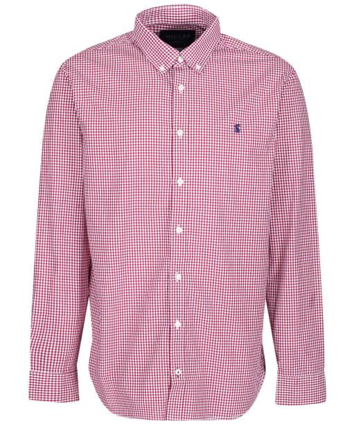Men's Joules Blythe Shirt - Purple Check