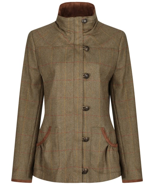 Women's Dubarry Bracken Tweed Jacket - Elm