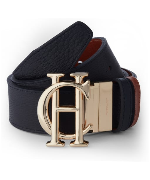 Women's Holland Cooper Classic Reversible Belt - Black / Tan