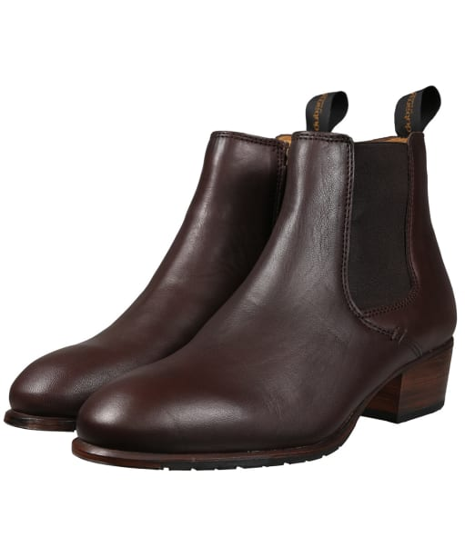 Women's Dubarry Bray Chelsea Boots - Leather - Old Rum