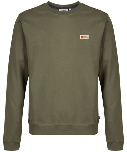 Men's Fjallraven Vardag Sweater - Green