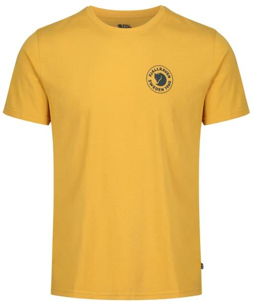 Men's Fjallraven 1960 Logo T-shirt - Ochre