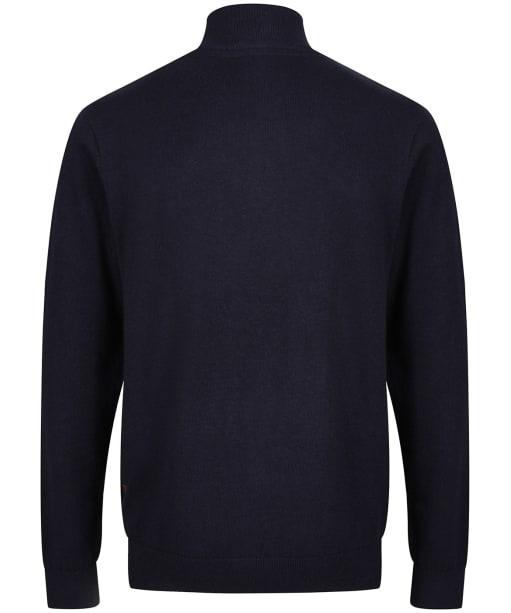 Men's Schoffel Cotton ¼ Zip Jumper - Navy