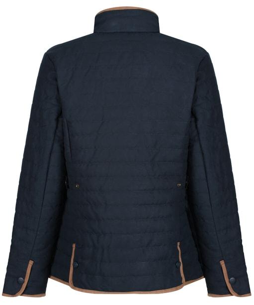 Women's Alan Paine Felwell Quilted Jacket - Dark Navy