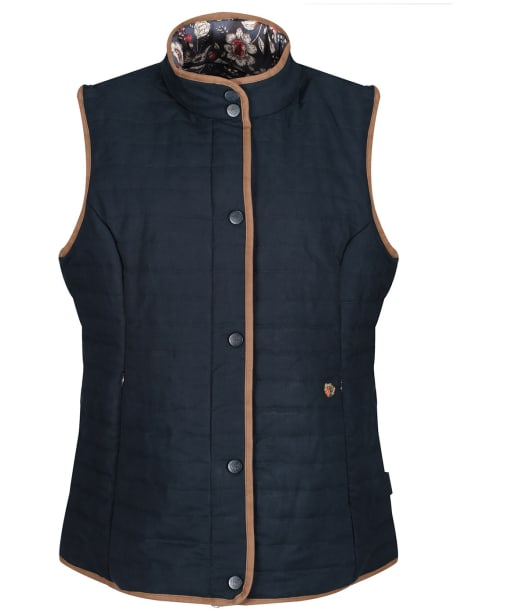 Women's Alan Paine Felwell Quilted Gilet - Dark Navy