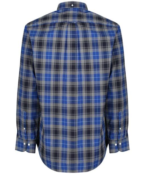 Men's GANT Herringbone Check Shirt - Crisp Blue