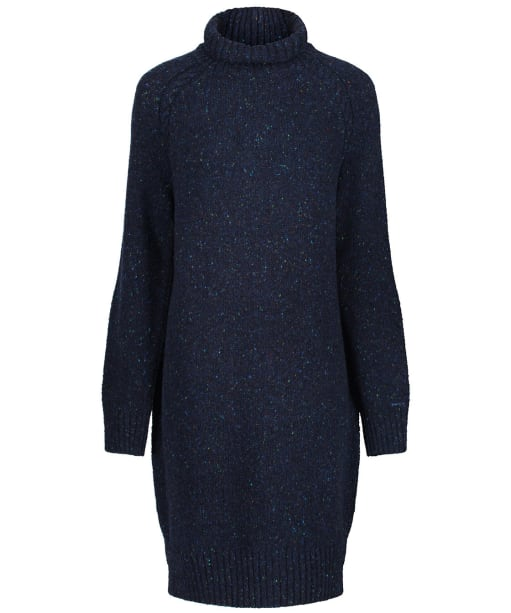 Women's GANT Neps Knitted Dress - Evening Blue