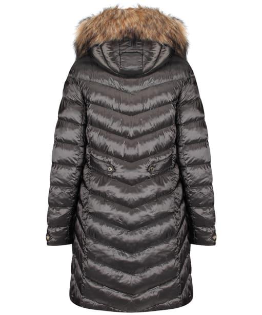 Women's Holland Cooper Molina Quilted Jacket - Petrol Khaki