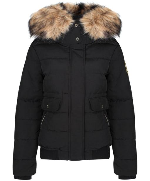 Women's Holland Cooper Ventina Puffer Jacket - Black